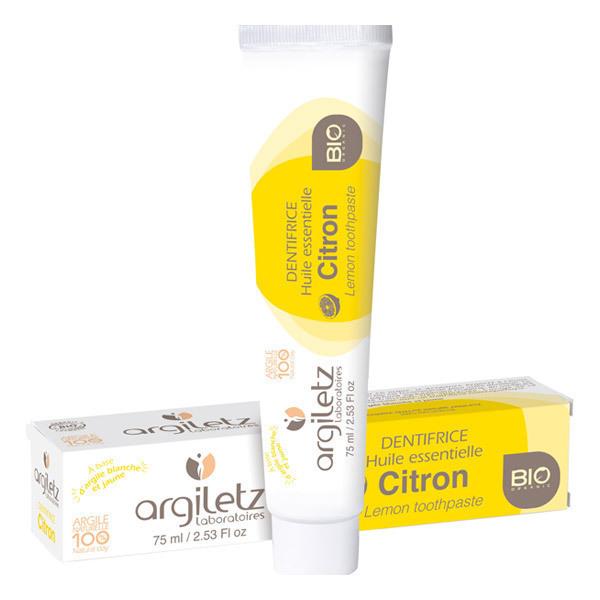 Argiletz - Dentifricio al limone 75 ml