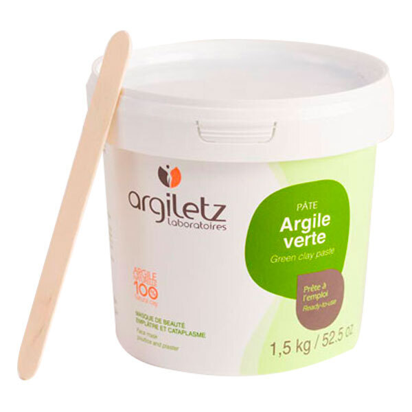 Argiletz - Argilla Verde in Pasta pronta all'uso 1.5 kg