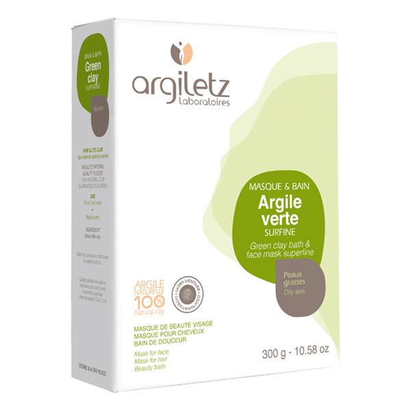 Argiletz - Poudre d'argile verte surfine 300g