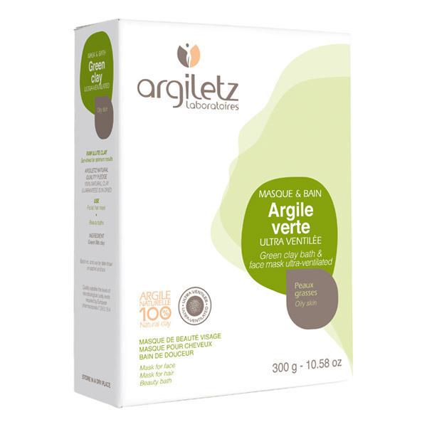 Argiletz - Poudre d'argile verte ultra ventilée 300g