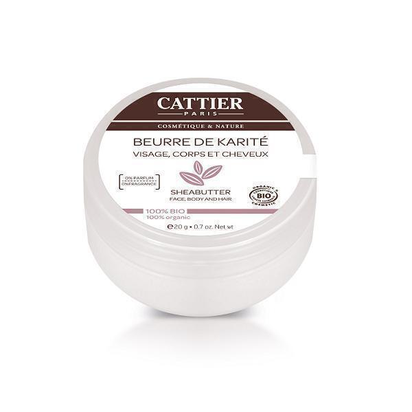 Cattier - Beurre de Karité - 100% BIO - 20 gr