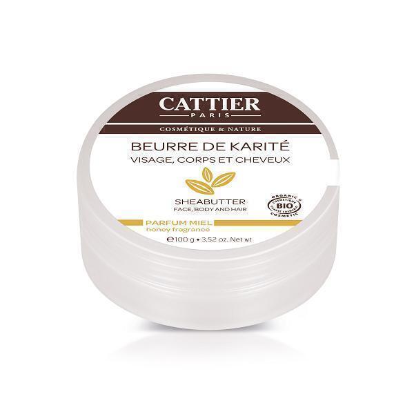 Cattier - Beurre de Karité Miel 100g