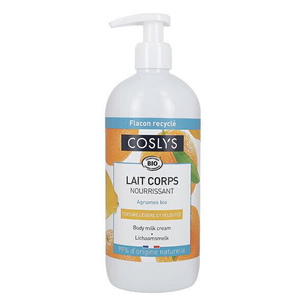 Coslys - Lait nourrissant corps Peaux sèches 500ml