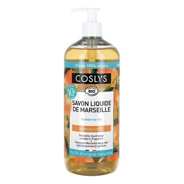 Coslys - Savon liquide de Marseille Mandarine 1L