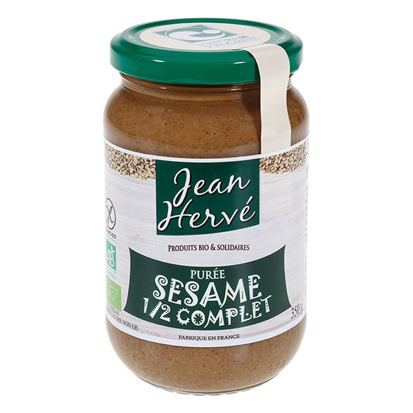 Jean Hervé - Purée de Sésame Demi Complet bio 350g