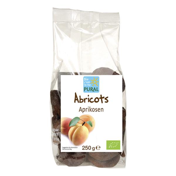 Pural - Abricots entiers dénoyautés 250g