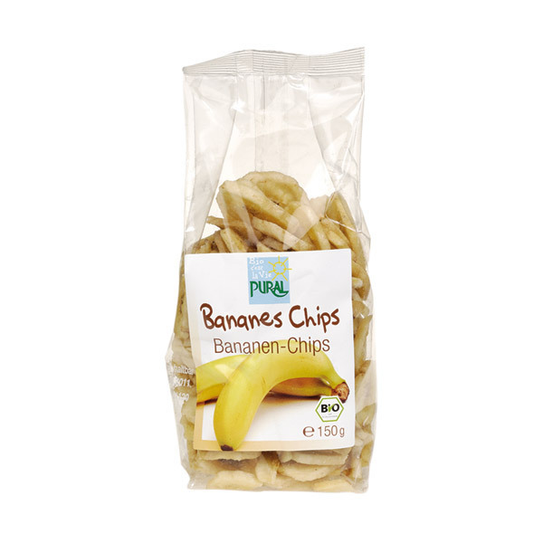 Pural - Chips de banane 150g