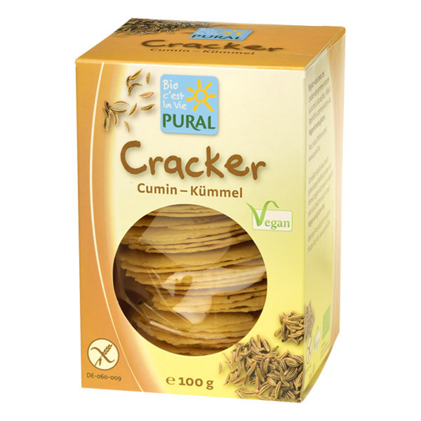 Pural - Cracker carvi cumin 100g