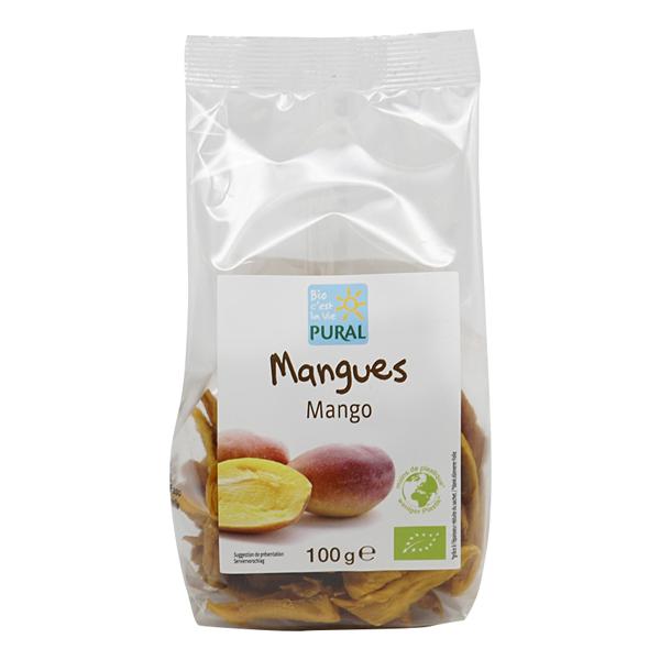 Pural - Mangues séchées 100g