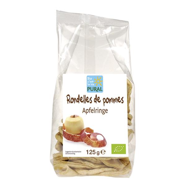 Pural - Rondelles de pommes séchées 125g