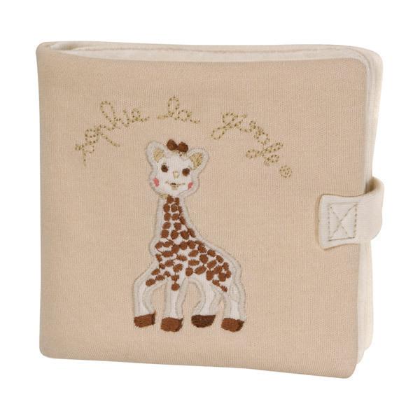 Livre d 39 veil sophie la girafe so 39 pure en coton bio vulli - Table d eveil sophie la girafe ...