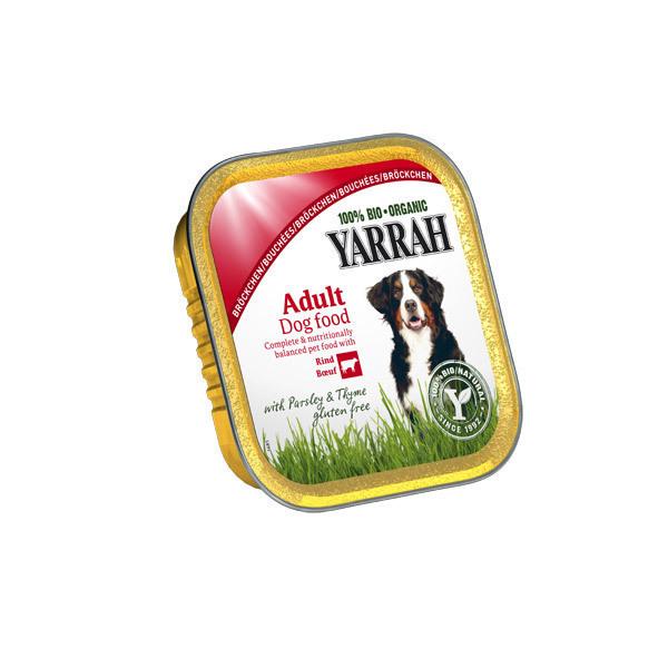 Yarrah - Barquette poulet et boeuf chien