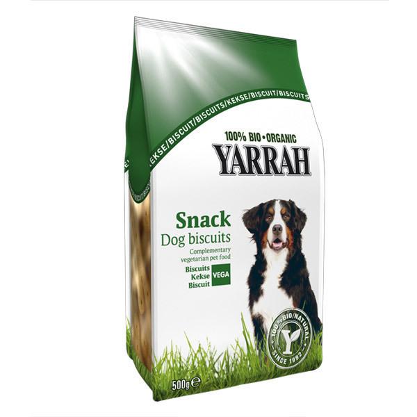 Yarrah - Biscuits végétarien pour chien 500g