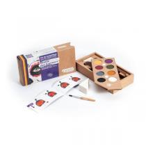 """Namaki - Kit de maquillage """"Monde des horreurs"""" - 8 couleurs"""