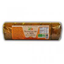 Abeille Royale - 6 nonnettes au miel et à l'orange BIO 150g