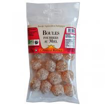 Abeille Royale - Boules fourrées miel BIO sachet 120 g
