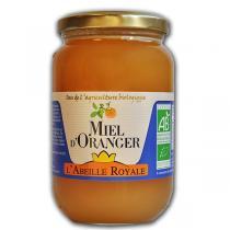 Abeille Royale - Miel d'Oranger BIO verre 500 g