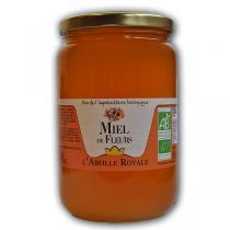 Abeille Royale - Miel de Fleurs BIO verre 1 kg