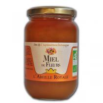 Abeille Royale - Miel de Fleurs BIO verre 500 g