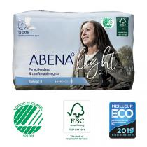 Abena - 10 Protections anatomiques Femme Light Extra 3