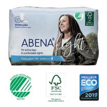 Abena - 10 Protections anatomiques Light Extra Plus 3A - 650ml - 11x33cm