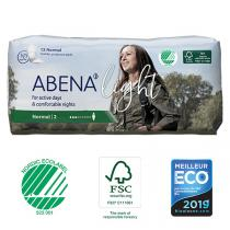 Abena - 12 Protections anatomiques Femme Light Normal 2
