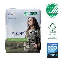 Abena - 20 Protections anatomiques Femme Light Mini 1