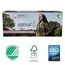 Abena - 24 Protections anatomiques Femme Light Ultra Mini
