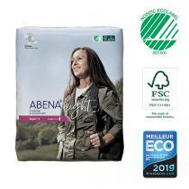 Abena - 30 Protections anatomiques Light Super 4 - 850ml - 20x44cm