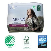 Abena - 8 Protections anatomiques Femme Light Maxi 4A