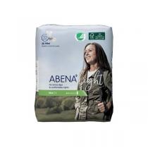 Abena - 20 Protections anatomiques Light Mini 1 - 180 ml - 10x22cm