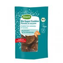 Alnavit - Cookies aux amandes et lucuma bio vegan sans gluten - 125 g