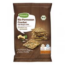 Alnavit - Crackers au parmesan bio et sans gluten - 75 g
