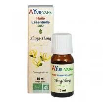 Ayur-Vana - Huile essentielle Ylang Ylang bio - 10 ml