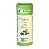 Ayur-Vana - Triphala en poudre bio - Flacon de 60 g