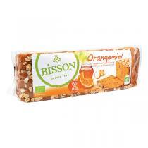 Bisson - Pain d'épices Orangemiel prétranché 300g