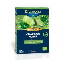 Dietaroma - Chardon Marie Forté - 20 ampoules
