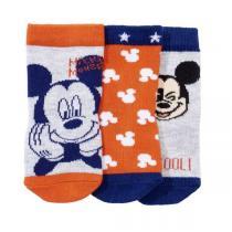 Disney Baby - 3 paires de chaussettes Mickey - Marine - 0 à 36 mois
