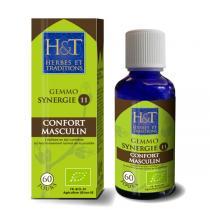 Herbes et Traditions - Synergie de gemmothérapie Confort Masculin n°11 bio - 50 ml