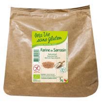 Ma Vie Sans Gluten - Farine de sarrasin bio et sans gluten - 3 kg