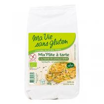 Ma Vie Sans Gluten - Mix Pâte à tarte farine de lentille verte bio et sans gluten - 4