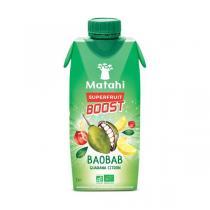 Matahi - Jus de Baobab Guarana Citron 330 mL