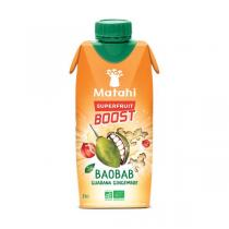 Matahi - Jus de Baobab Guarana Gingembre 330 mL