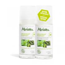 Melvita - Lot de 2 x Déodorant efficacité 24h 50 ml