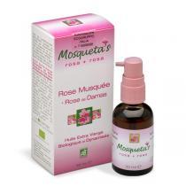 Mosqueta's - Huile de Rose Musquée bio huile essentielle Rose de Damas - 30ml