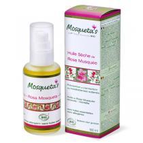 Mosqueta's - Huile sèche de Rose Musquée bio - 100 ml