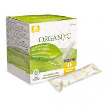 Organyc - Tampon compact Régulier applicateur x 16
