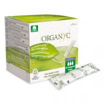 Organyc - Tampon compact Super applicateur x 16