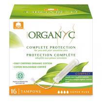 Organyc - Tampon compact Super Plus applicateur x 16