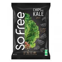 Origin - Chips de kale Poivre bio - 40 g